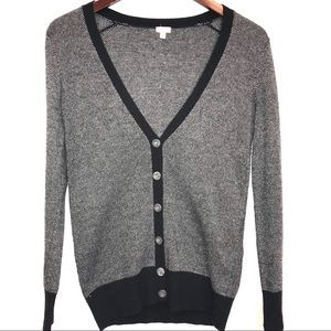 J. Crew V-Neck Cardigan Wool/Cashmere blend